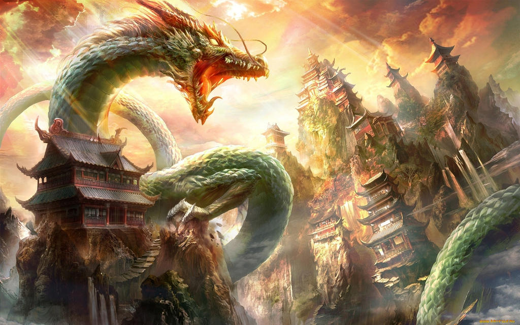 Dragon Attack Walpaper by deaload on DeviantArt