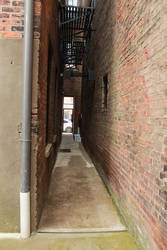 Brick Alleyway by eleutheria-stock
