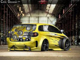Volkswagen Space Fox by ChitaDesigner
