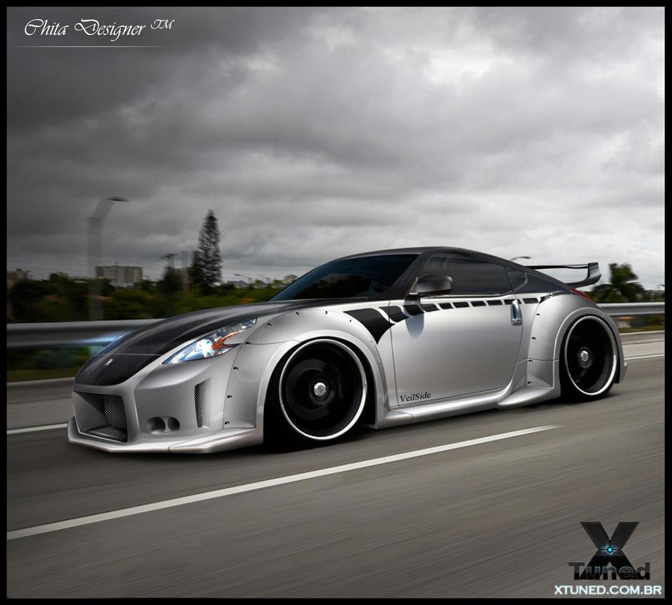 Nissan 370z Veilside By Chitadesigner On Deviantart