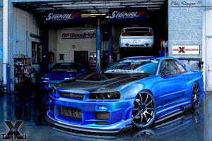 Nissan Skyline R34 GTR by ChitaDesigner