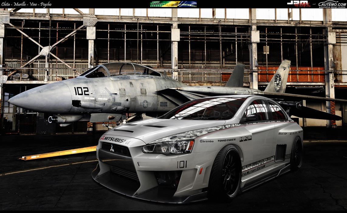 Lancer Evo Military WTB 11' by ChitaDesigner