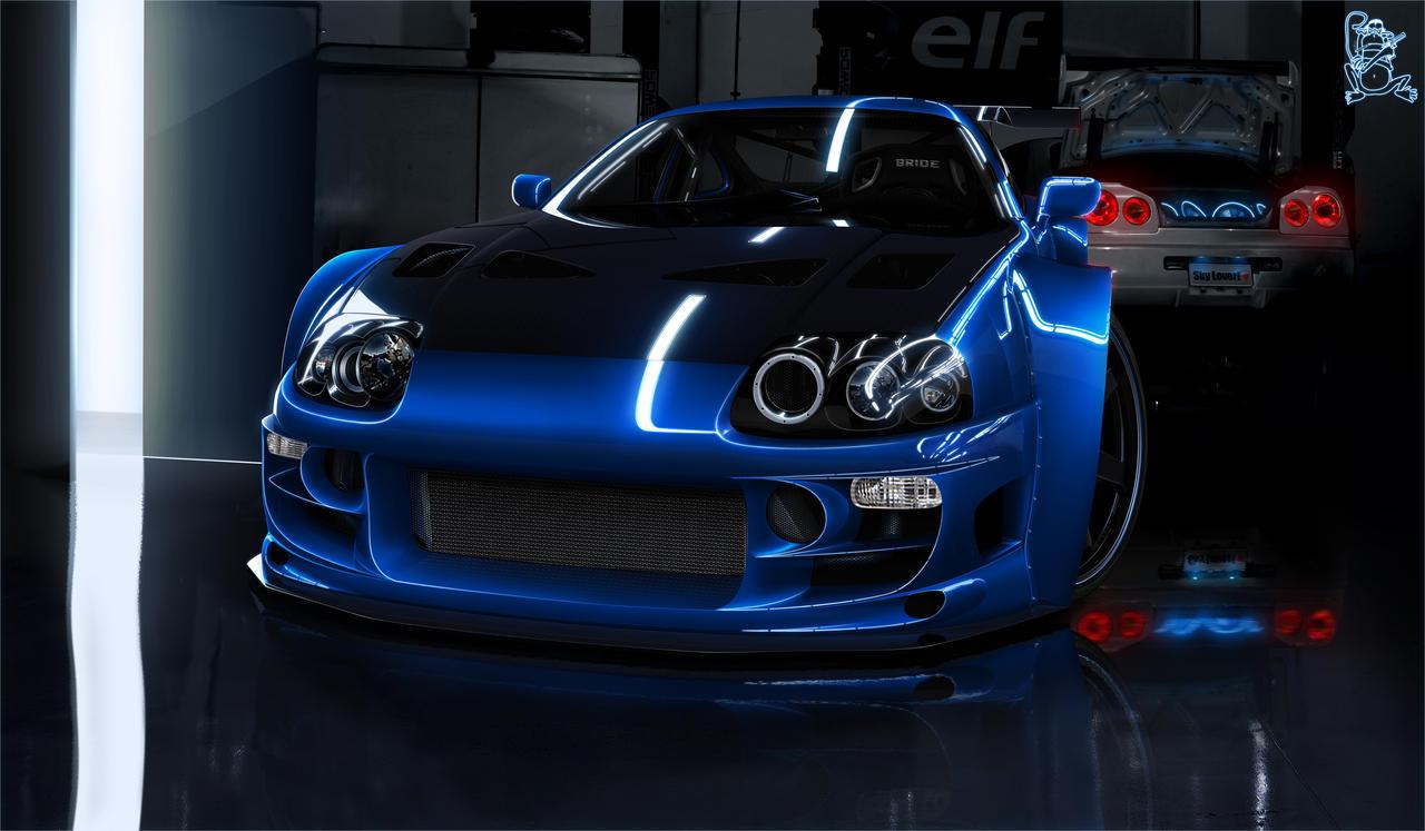 Toyota Supra by ChitaDesigner