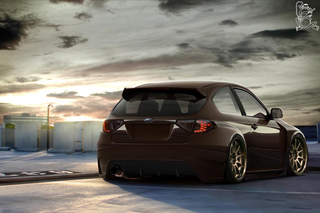 Subaru Impreza WRX by ChitaDesigner