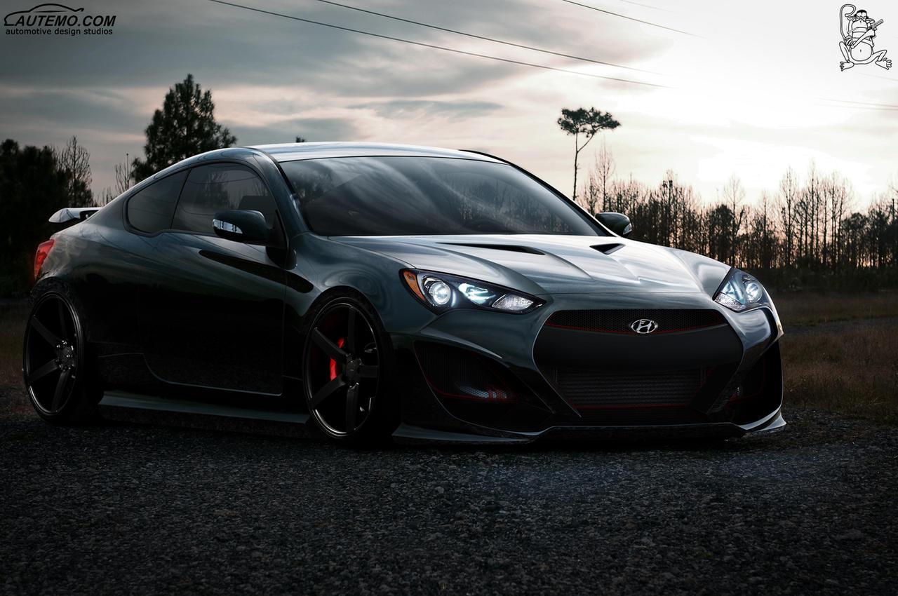 2014 Genesis Coupe >> Hyundai Genesis Coupe Front by ChitaDesigner on DeviantArt