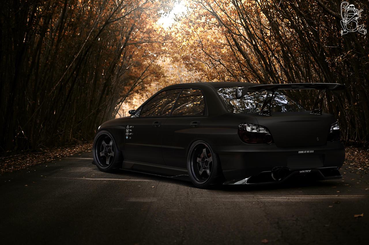Subaru Impreza STi by ChitaDesigner