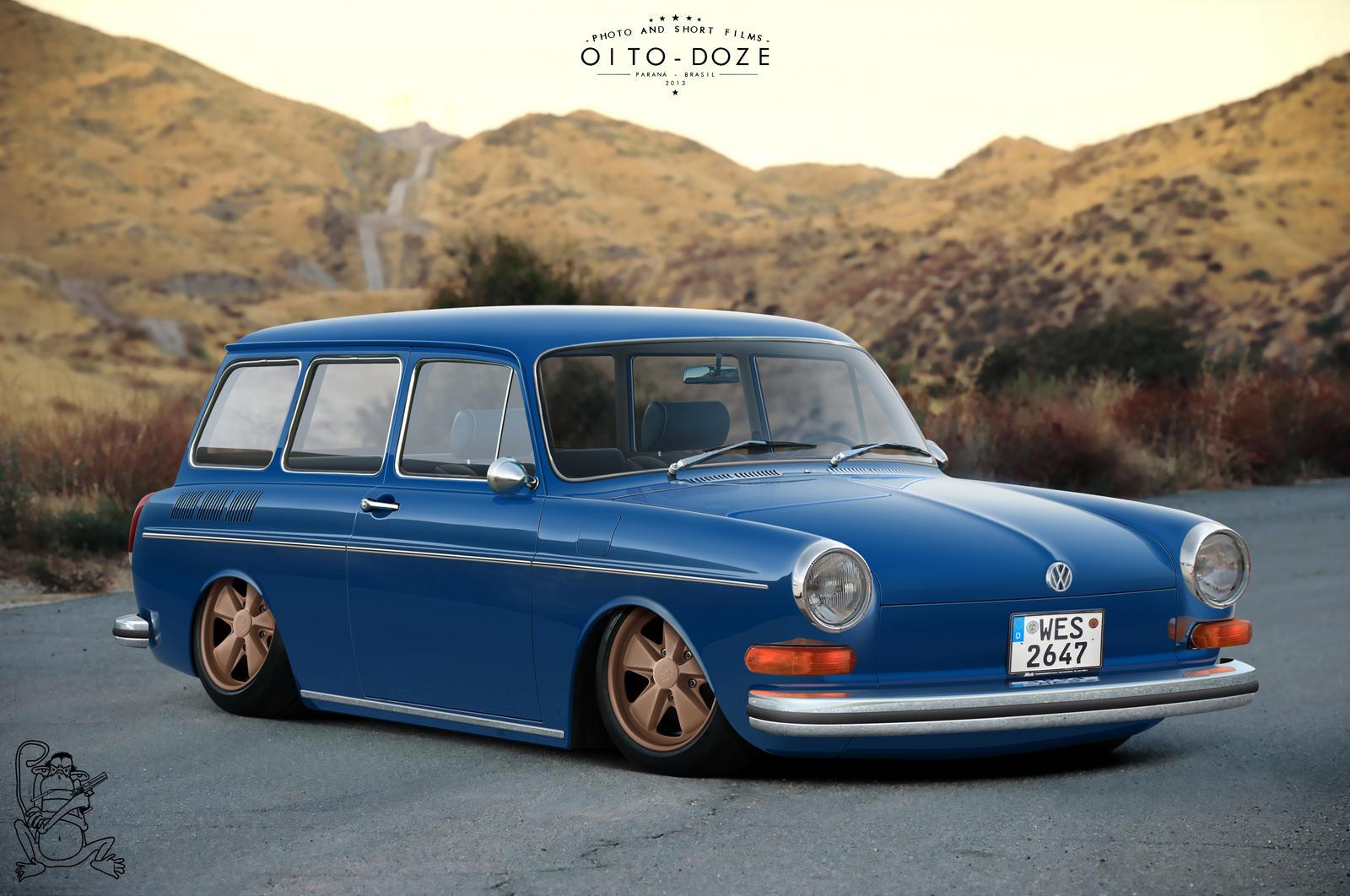 1968 Volkswagen Type 3 Squareback: Volkswagen Type 3 Squareback By ChitaDesigner On DeviantArt