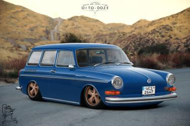 Volkswagen Type 3 Squareback by ChitaDesigner