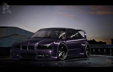 BMW M3 E36 by ChitaDesigner