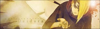 Deidara Signature by God-Like-Phoenix