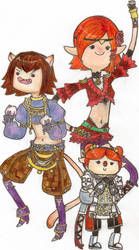 Adventure Time - FFXI style I by gravi-is-t3hsex