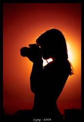 Camera girl III by cynop