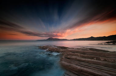 MultiColoured Sunset by cynop