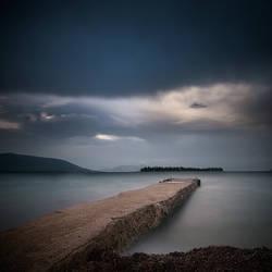 Bluish Harbor by cynop