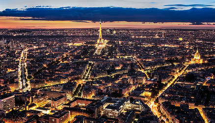 Lights of Paris by cynop
