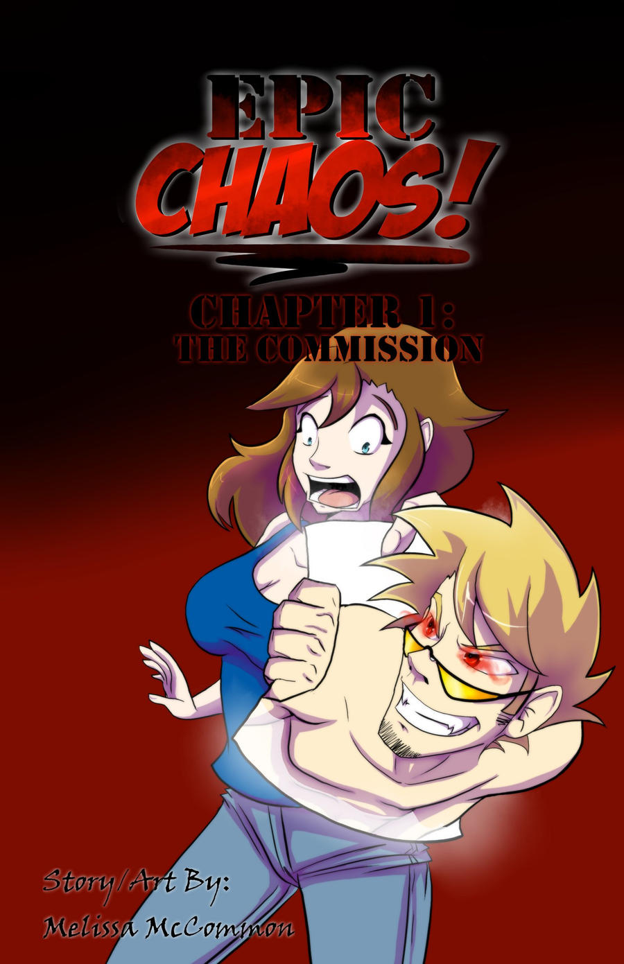 Epic Chaos! Front Cover