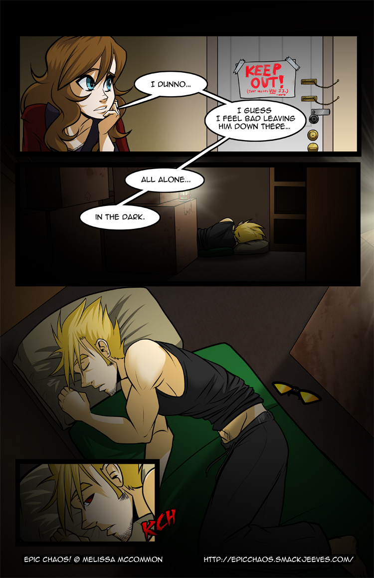Epic Chaos! Chapter 5 Page 3