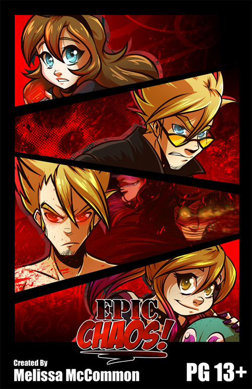 Epic Chaos! by ArtByMelissaM