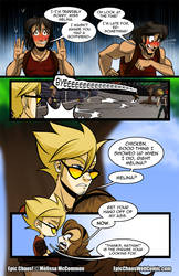 Epic Chaos! Webcomic Chapter 1 Page 9 by ArtByMelissaM