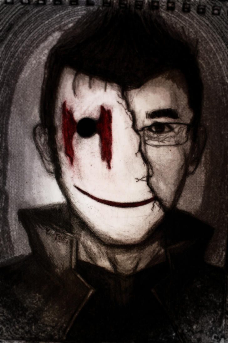 markiplier mask by MarinaX93