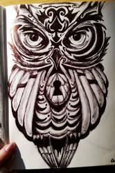 Owl Lock by MarinaX93