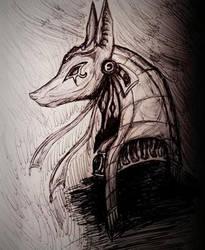 Anubis by MarinaX93