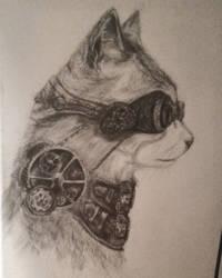 Machine Cat by MarinaX93