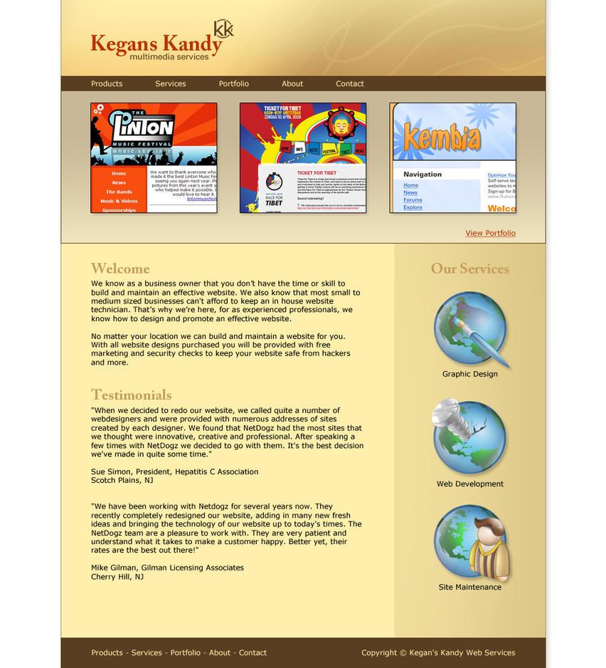 Kegan's Kandy Design by BlakeH