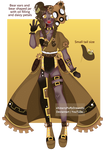 Steampunk JarLette #4 ADOPT [OPEN/SETPRICE] by StarryPuffy-Adopts