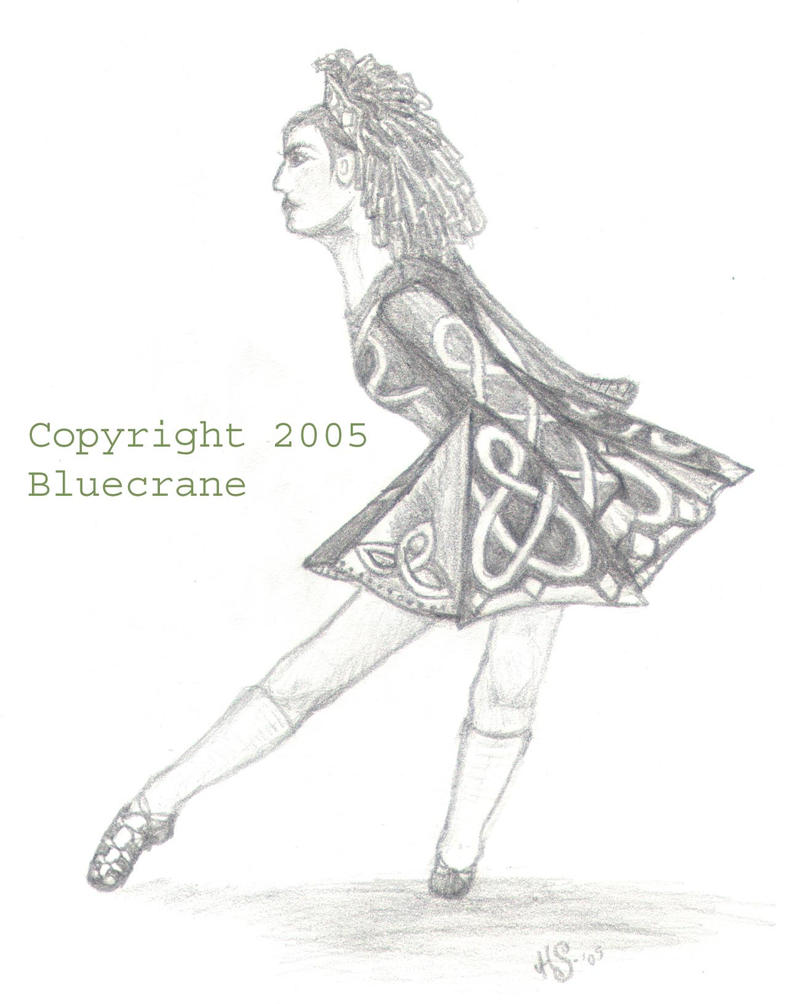 irish girl dancing coloring pages - photo#24