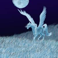 pegasus by bluecrane