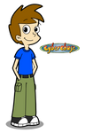 Jnohai in Cyberchase style
