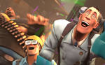 Team Fortress 2 Wallpaper Party Time