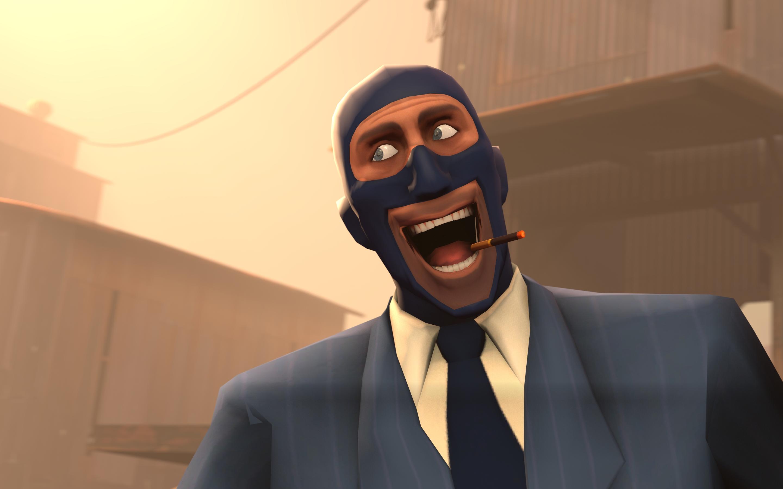 Team Fortress 2 Wallpaper Happy Spy