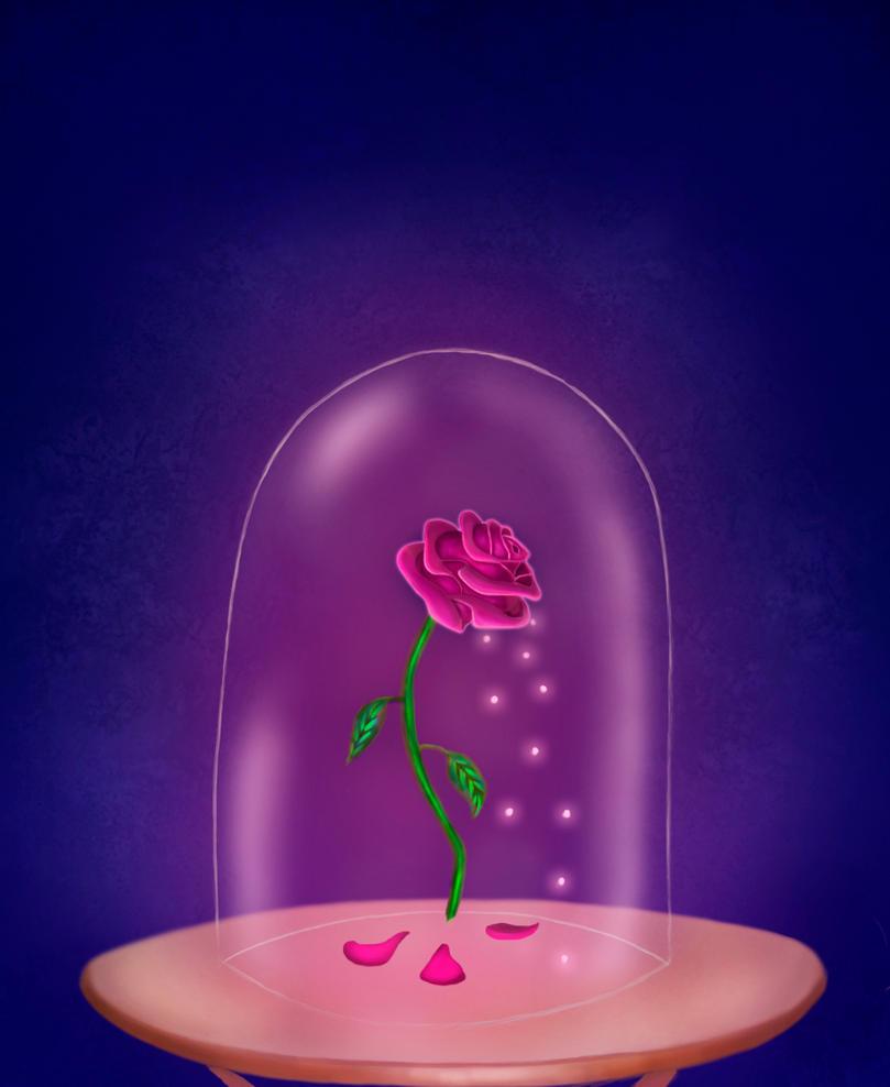 Encanted Rose By Kellyhigurashi On Deviantart
