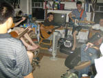 College Guitar Party
