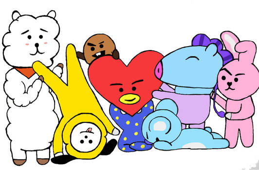 BT21 color