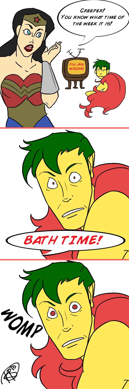 Creeper Takes a Bath by KillBillVol2