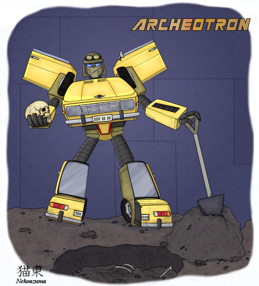 Transformer Archeotron by Nekoazuma