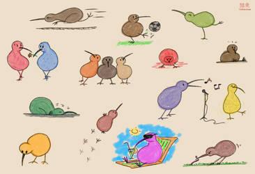 Kiwi sketch dump