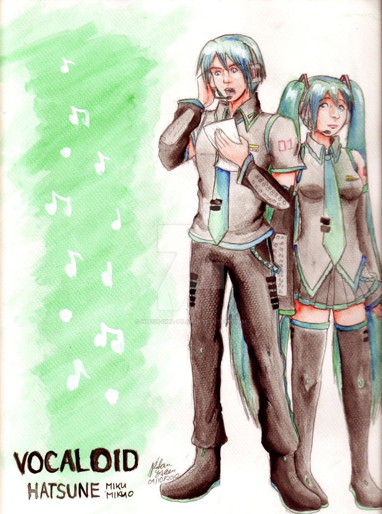 VOCALOID: The Hatsunes by witch-girl-pilar