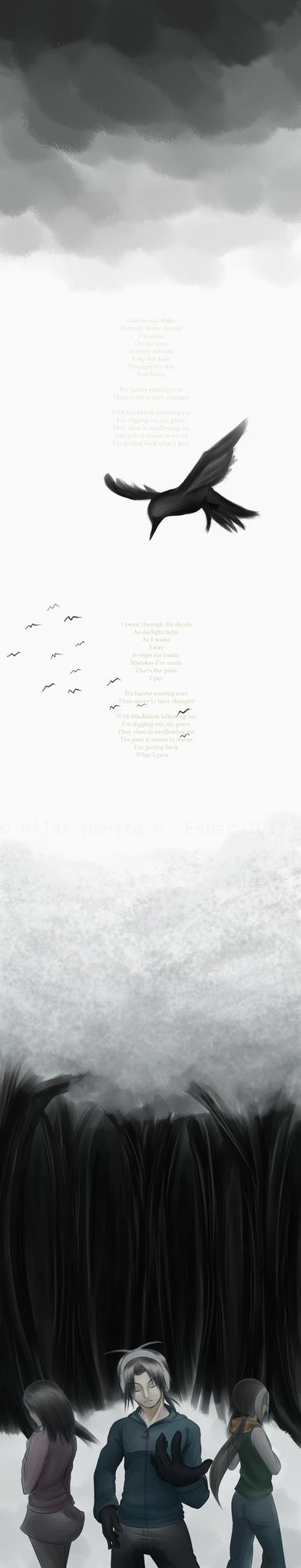 Blackbirds by witch-girl-pilar