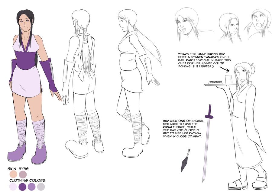 SDL: Momoko Ref Sheet by witch-girl-pilar