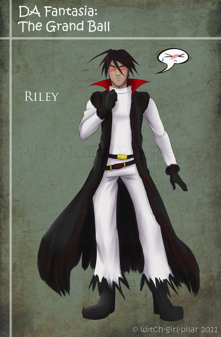 dAF: Riley's Ball Attire by witch-girl-pilar