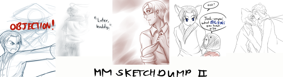 MM SketchDump 2 by witch-girl-pilar