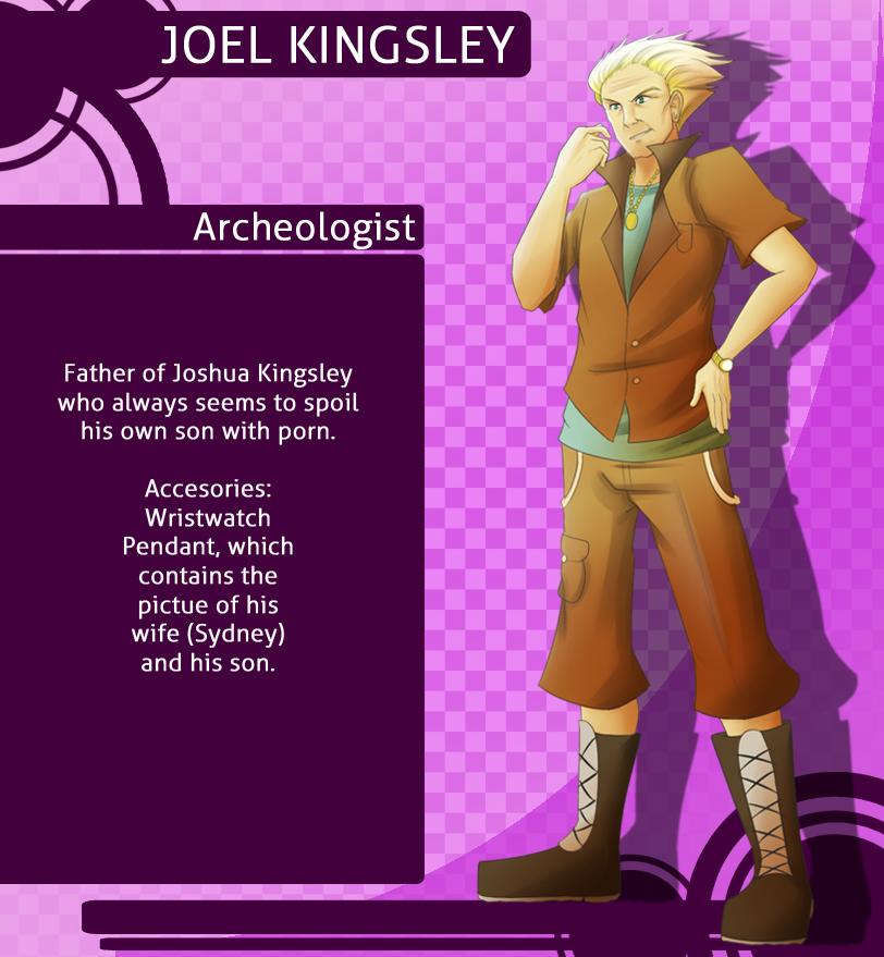 MM: Joel Kingsley by witch-girl-pilar