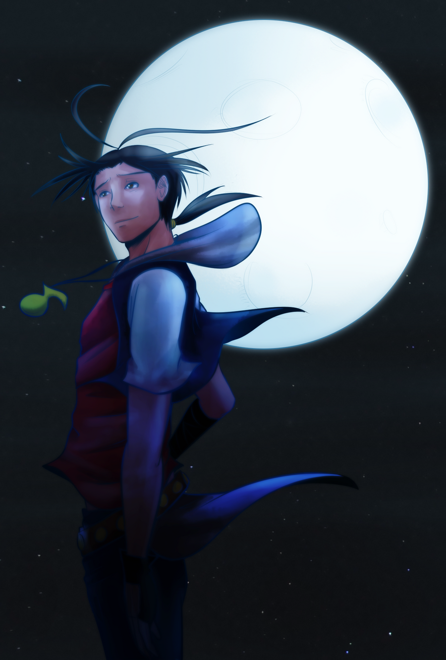 Under the Moon by witch-girl-pilar