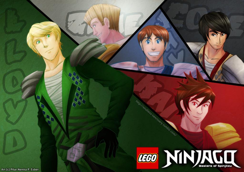Ninjago: Masters of Spinjitsu by witch-girl-pilar