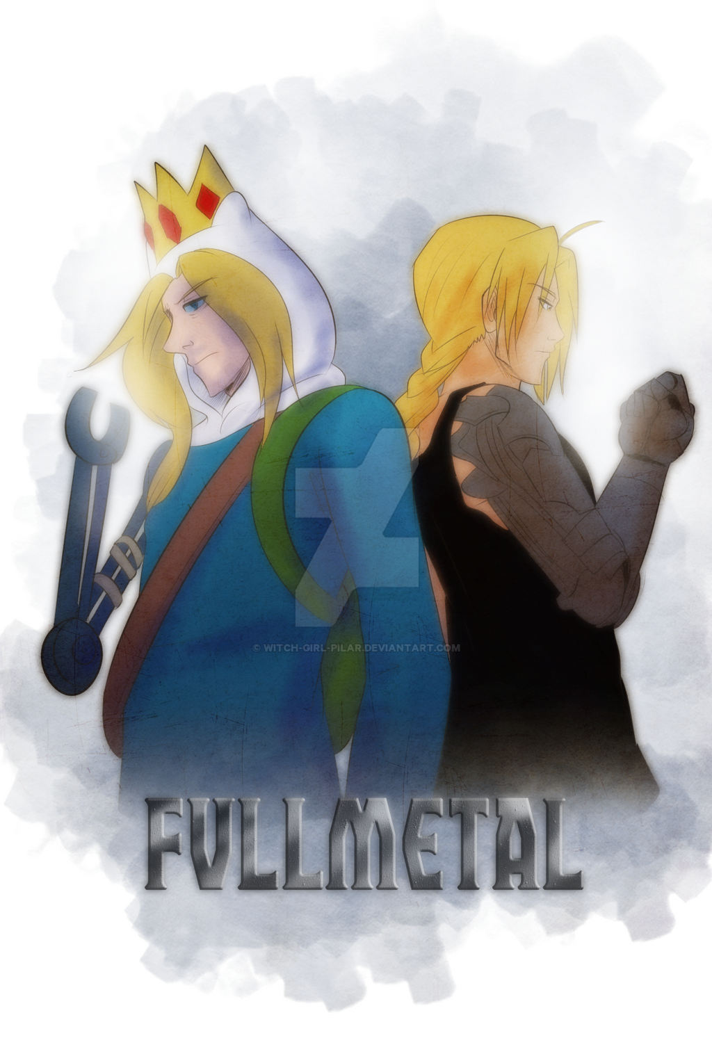 FMA X AT: Fullmetal by witch-girl-pilar
