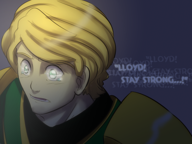 Ninjago: Stay Strong Lloyd by witch-girl-pilar